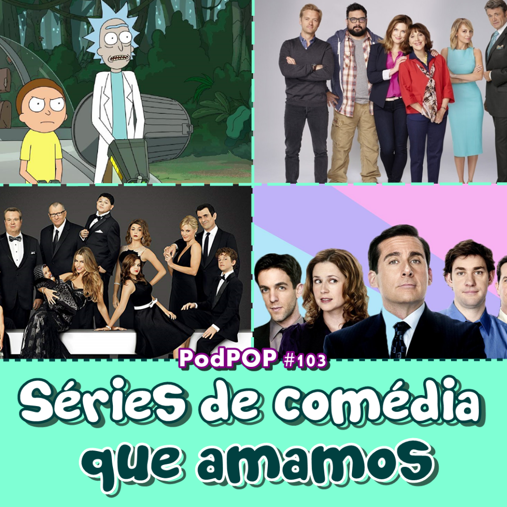 Séries de comédia dicas de séries dica de séries dica de série série de comédia The Office Great News The Good Place Modern Family Rick and Morty Comedians In Car Getting Coffe Originais Netflix série original NBetflix comédias da Netflix série de comédia da Netflix