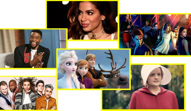 Frozen 2 Anna Elsa Olaf Rodrigo Santoro Reprisal Hulu Anitta Snoop Dogg Riverdale séries The CW séries da Warner serviço de streaming da Warner Queer Eye 3a temporada Octavia Spencer Anne Hathaway Convenção das Bruxas remake