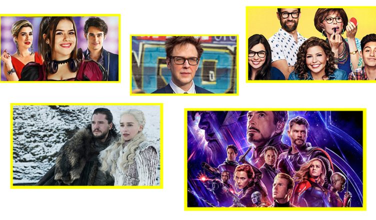 James Gunn recontratado James Gunn de volta James Gunn Guardiões da Galáxia 3 James Gunn volta para Marvel STudios Game of Thrones final de série duração dos episódios de GOt última temporada de GOT HBO HBO Go HBO Game of Thrones episódios finais Vingadores Ultimato Vingadores 4 Poster 2 Vingadores Ultimato trailer Vingadores Ultimato One day at a time Série original Netflix