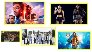 DESTAQUE Anitta Star Trek Discovery Nasce Uma Estrela Game of Thrones Greys Anatomy Aquaman