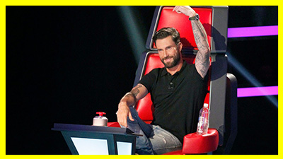 Adam Levine saiu do The Voice