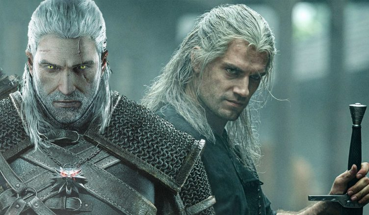 The witcher série Netflix games PC