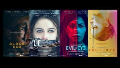 filmes BLACK BOX, THE LIE, EVIL EYE e NOCTURNE filmes Blumhouse Amazon Prime Video dicas de filmes de terror